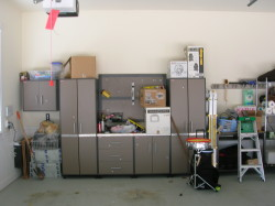 BEFORE Garage Organize