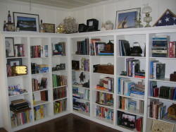 AFTER Bookshelf Unpack and Organize