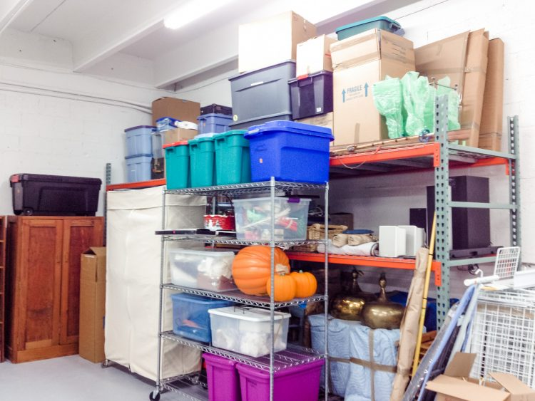 Get Your Basement Organized With Plastic Storage Containers